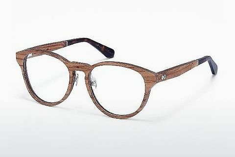 Lunettes design Wood Fellas Wernstein (10938 zebrano)
