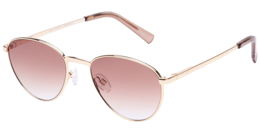 Le Specs   HOT STUFF LSP1802420 BROWN GRADBRIGHT GOLD