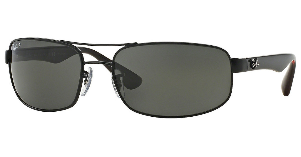 Ray-Ban   RB3445 006/P2 POLAR DARK GREYMATTE BLACK