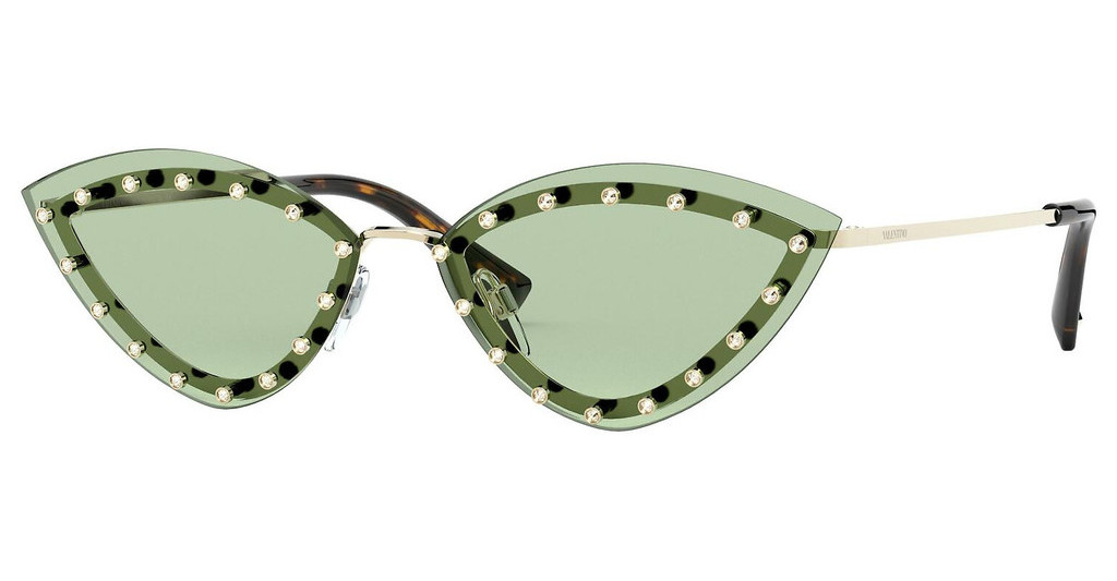 Valentino   VA2033 3003/2 LIGHT GREENLIGHT GOLD