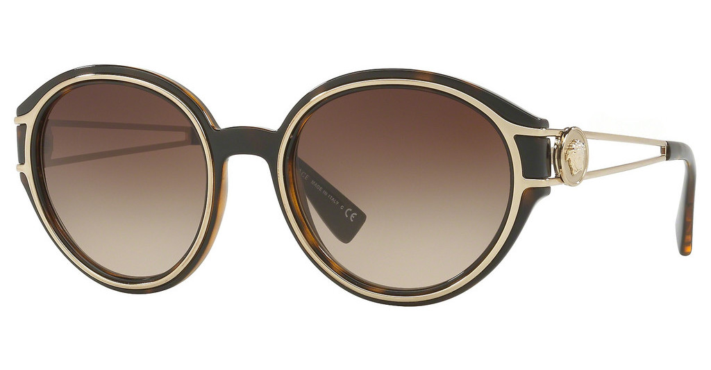 Versace   VE4342 108/13 BROWN GRADIENTHAVANA/PALE GOLD