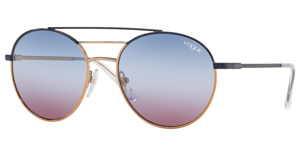 Vogue   VO4117S 50750K GRADIENT BLUE GRADIENT VIOLETBLUE/ROSE GOLD