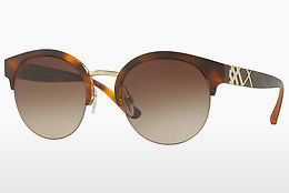 Lunettes de soleil Burberry BE4241 338213 - Or, Brunes, Havanna