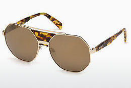 Lunettes de soleil Just Cavalli JC828S 53G - Havanna, Yellow, Blond, Brown
