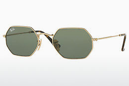 Lunettes de soleil Ray-Ban Octagonal (RB3556N 001) - Or