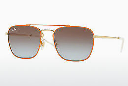 Lunettes de soleil Ray-Ban RB3588 90612W - Or, Orange