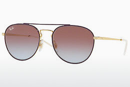 Lunettes de soleil Ray-Ban RB3589 9059I8 - Or, Pourpre