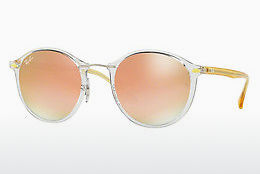 Lunettes de soleil Ray-Ban Round Ii Light Ray (RB4242 6288B9) - Transparentes