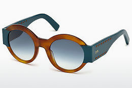 Lunettes de soleil Tod's TO0212 53W - Havanna, Yellow, Blond, Brown
