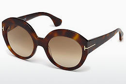 Lunettes de soleil Tom Ford Rachel (FT0533 53F) - Havanna, Yellow, Blond, Brown