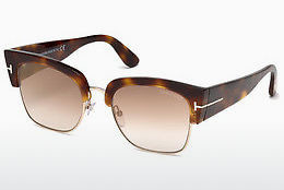 Lunettes de soleil Tom Ford Dakota (FT0554 53G) - Havanna, Yellow, Blond, Brown