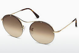 Lunettes de soleil Tom Ford FT0565 28F - Or