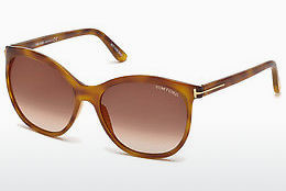 Lunettes de soleil Tom Ford FT0568 53G - Havanna, Yellow, Blond, Brown