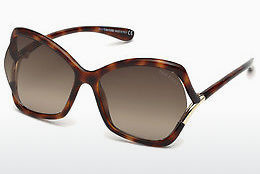 Lunettes de soleil Tom Ford FT0579 53K - Havanna, Yellow, Blond, Brown