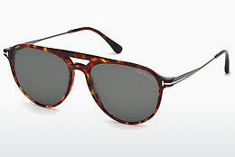 Lunettes de soleil Tom Ford FT0587 54N - Havanna, Red