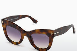 Lunettes de soleil Tom Ford FT0612 53Z - Havanna, Yellow, Blond, Brown