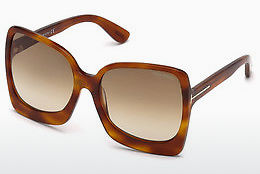 Lunettes de soleil Tom Ford FT0618 53F - Havanna, Yellow, Blond, Brown