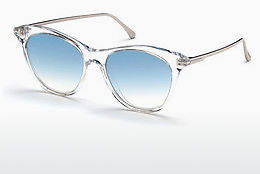 Lunettes de soleil Tom Ford FT0662 22X - Blanches, Crystal
