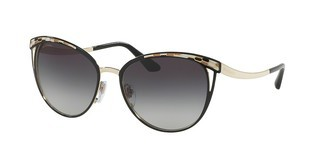 Bvlgari BV6083 20188G GREY GRADIENTBLACK/PALE GOLD