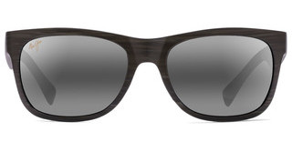 Maui Jim Kahi 736-63W Neutral GreyMatte Aquamarine Wood Grain