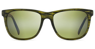Maui Jim Tail Slide HT740-15CM Maui HTMatte Green Stripe