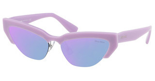 Miu Miu MU 04US 131174 BLUE MIRROR PURPLE ROSELILAC