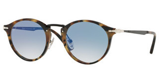 Persol PO3166S 10713F CLEAR GRADIENT BLUETORTOISE BROWN ICE