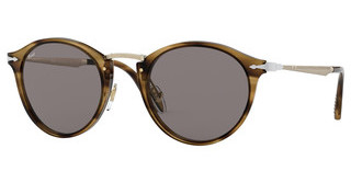 Persol PO3166S 1085R5 GREYSTRIPED BROWN