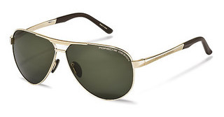 Porsche Design P8649 B grey green polarizedgold