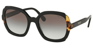 Prada PR 16US 3890A7 GREY GRADIENTBLACK/MEDIUM HAVANA