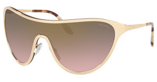 Prada PR 72VS 5AK707 PINK GRADIENT GREY MIRROR GOLDGOLD