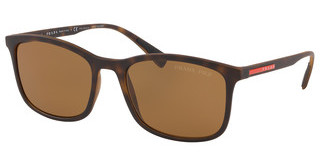 Prada Sport PS 01TS 5815Y1 POLAR BROWNHAVANA RUBBER