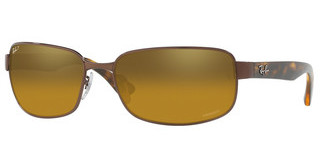 Ray-Ban RB3566CH 014/A3 BROWN MIR GOLD GRADIENT POLARBROWN
