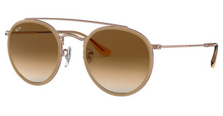 Ray-Ban RB3647N 907051 CLEAR GRADIENT BROWNCOPPER