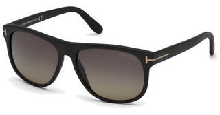 Tom Ford FT0236 02D grau polarisierendschwarz matt