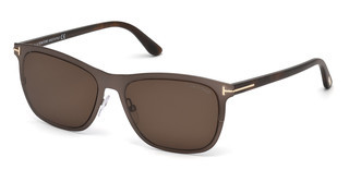 Tom Ford FT0526 48J roviexbraun dunkel glanz