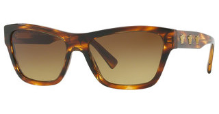 Versace VE4344 502513 BROWN GRADIENTSTRIPED HAVANA