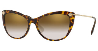 Versace VE4345B 108/6U GRADIENT BROWN MIRROR GOLDHAVANA