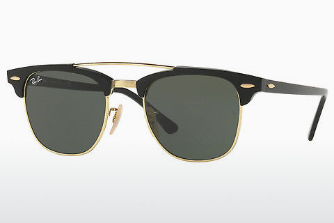 Zonnebril Ray-Ban CLUBMASTER DOUBLEBRIDGE (RB3816 901)