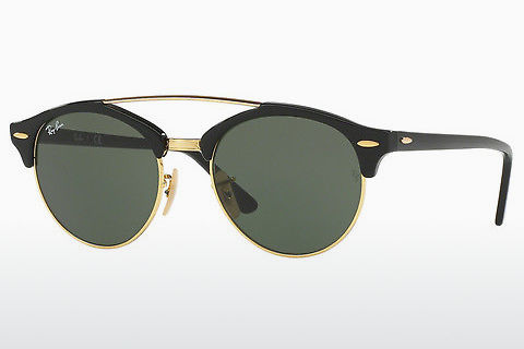 Zonnebril Ray-Ban Clubround Doublebridge (RB4346 901)