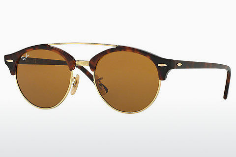 Zonnebril Ray-Ban Clubround Doublebridge (RB4346 990/33)