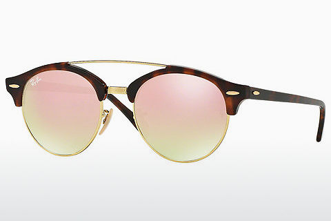Zonnebril Ray-Ban Clubround Double Bridge (RB4346 990/7O)
