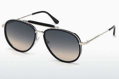 Zonnebril Tom Ford Tripp (FT0666 01B)