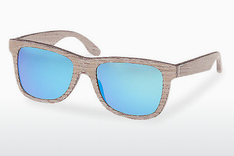 Zonnebril Wood Fellas Prinzregenten (10755 chalk oak/blue)