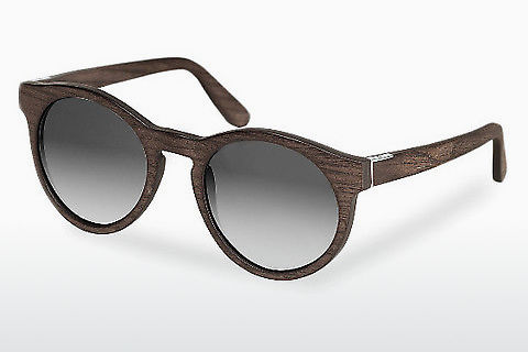 Lunettes de soleil Wood Fellas Au (10756 black oak/grey)