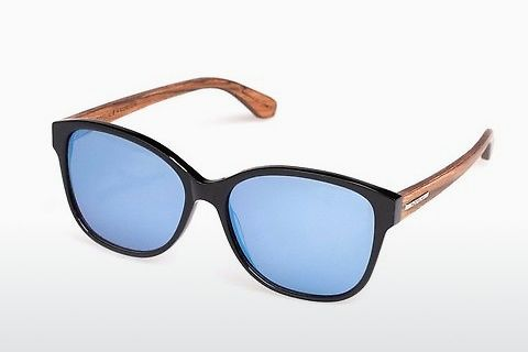 Lunettes de soleil Wood Fellas Basic Wallerstein (10794 black oak)