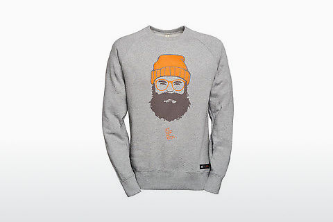 Edel-Optics Sweatshirt SABS #MAN grau