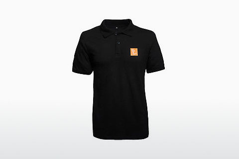 Edel-Optics Polo Shirt SABS ICON schwarz